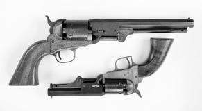 Παλαιά πιστόλια κάουμποϋ Στοκ φωτογραφία με δικαίωμα ελεύθερης χρήσης