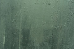 Παλαιά πράσινα βρώμικα επιφάνεια/σύσταση/υπόβαθρο μετάλλων Στοκ Φωτογραφία
