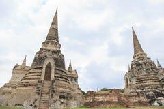 Παλαιά προηγούμενη πρωτεύουσα παγοδών της Ταϊλάνδης Στοκ Εικόνα