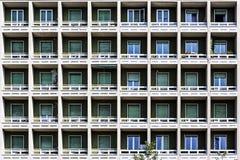 Παλαιά πρόσοψη οικοδόμησης Στοκ Εικόνα