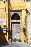 Παλαιά πόρτα, Λίβανος Στοκ Εικόνες