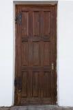 παλαιά πόρτα ξύλινη Στοκ φωτογραφία με δικαίωμα ελεύθερης χρήσης