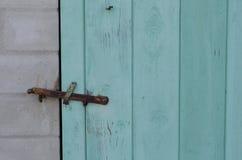 Παλαιά πόρτα πινάκων Στοκ Εικόνα