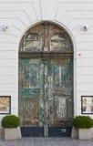 Παλαιά πόρτα στη Βιέννη Στοκ Εικόνα