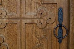 Παλαιά πόρτα ύφους στοκ εικόνες με δικαίωμα ελεύθερης χρήσης