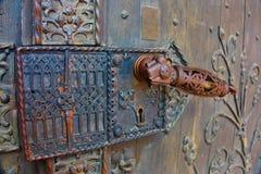 παλαιά πόρτα Στοκ Εικόνες