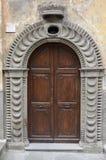 Παλαιά πόρτα, Bagnaia Στοκ φωτογραφία με δικαίωμα ελεύθερης χρήσης