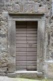 Παλαιά πόρτα, Bomarzo Στοκ Φωτογραφία