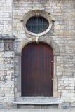 Παλαιά πόρτα, Lier, Βέλγιο Στοκ Εικόνες