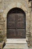 Παλαιά πόρτα, Tarquinia 2 Στοκ φωτογραφία με δικαίωμα ελεύθερης χρήσης