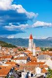 Παλαιά πόλης αρχιτεκτονική Trogir Στοκ Φωτογραφίες