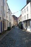 Παλαιά πόλης οδός στο παλαιό κέντρο Hexham Στοκ φωτογραφίες με δικαίωμα ελεύθερης χρήσης