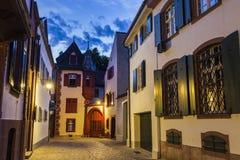 Παλαιά πόλης οδός της Βασιλείας Στοκ Φωτογραφίες