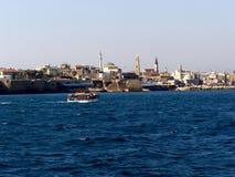 Παλαιά πόλης σιωπή του Ισραήλ Akko Στοκ Φωτογραφία
