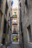 Παλαιά πόλη, Βαρκελώνη Στοκ Φωτογραφίες