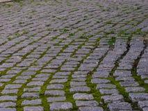 παλαιά πόλη οδών πετρών επίστρωσης μικρή Στοκ φωτογραφία με δικαίωμα ελεύθερης χρήσης