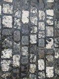 παλαιά πόλη οδών πετρών επίστρωσης μικρή Στοκ φωτογραφίες με δικαίωμα ελεύθερης χρήσης