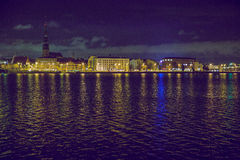 Παλαιά πόλη Ρήγα, capiral της Λετονίας Στοκ Φωτογραφίες