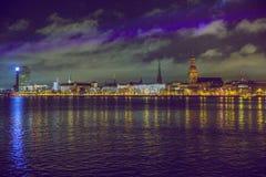 Παλαιά πόλη Ρήγα, capiral της Λετονίας Στοκ Εικόνες