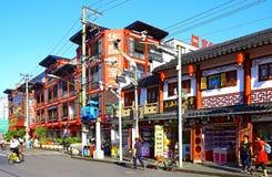 Παλαιά πόλη, Σαγγάη, Κίνα Στοκ φωτογραφίες με δικαίωμα ελεύθερης χρήσης