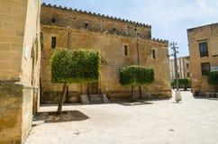 Παλαιά πόλη σε Castelvetrano, Σικελία Στοκ φωτογραφίες με δικαίωμα ελεύθερης χρήσης
