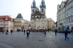 Παλαιά πόλη σε Prag Στοκ εικόνα με δικαίωμα ελεύθερης χρήσης