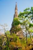 Παλαιά πόλη στην Καμπότζη Στοκ Εικόνα