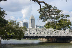 Παλαιά πόλη στη Σιγκαπούρη Στοκ εικόνα με δικαίωμα ελεύθερης χρήσης