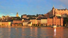 Παλαιά πόλη στη Στοκχόλμη, Σουηδία φιλμ μικρού μήκους