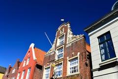 Παλαιά πόλη στο κρυφοκοίταγμα Στοκ εικόνες με δικαίωμα ελεύθερης χρήσης