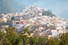 παλαιά πόλη στο Μαρόκο και την κοιλάδα τοπίων Στοκ Φωτογραφία