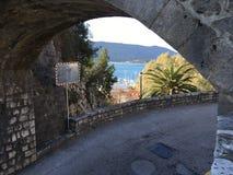 Παλαιά πόλη στο Μαυροβούνιο στοκ φωτογραφίες