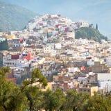 παλαιά πόλη στο σπίτι εδάφους του Μαρόκου Αφρική και κοιλάδα τοπίων Στοκ Εικόνες