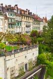 Παλαιά πόλη της Βέρνης, Ελβετία Κάθετη φωτογραφία Στοκ εικόνες με δικαίωμα ελεύθερης χρήσης
