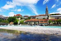 Παλαιά πόλη της Βέρνης Στοκ Εικόνες