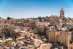Παλαιά πόλη της Ιερουσαλήμ Στοκ Εικόνα