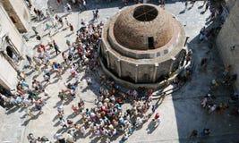 παλαιά πόλη της Κροατίας dubrovni Βαλκάνια, αδριατική θάλασσα, Ευρώπη Καρπάθιος, Ουκρανία, Ευρώπη Στοκ Φωτογραφίες