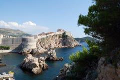 παλαιά πόλη της Κροατίας dubrovni Βαλκάνια, αδριατική θάλασσα, Ευρώπη Καρπάθιος, Ουκρανία, Ευρώπη Στοκ Εικόνες