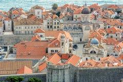παλαιά πόλη της Κροατίας dubrovni Στοκ εικόνες με δικαίωμα ελεύθερης χρήσης