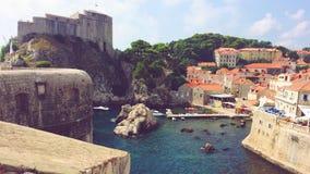 Παλαιά πόλη της Κροατίας Dubrovnik Στοκ Εικόνα