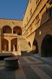 παλαιά πόλη της Ρόδου παλατιών ορόσημων της Ελλάδας grandmasters Στοκ εικόνα με δικαίωμα ελεύθερης χρήσης