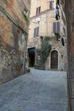 Παλαιά πόλη της Σιένα - της Ιταλίας Στοκ Εικόνες