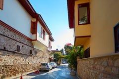 παλαιά πόλη Τουρκία kaleici antalya Στοκ Φωτογραφία