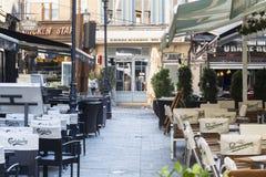 Παλαιά πόλη του Βουκουρεστι'ου Στοκ Εικόνα