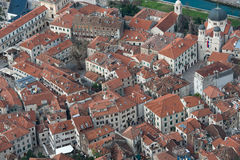 παλαιά πόλη του Μαυροβο&ups Στοκ Εικόνες