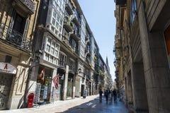 Παλαιά πόλη του Μπιλμπάο, Ισπανία Στοκ Φωτογραφίες