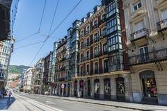 Παλαιά πόλη του Μπιλμπάο, Ισπανία Στοκ φωτογραφίες με δικαίωμα ελεύθερης χρήσης