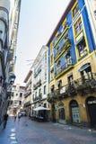 Παλαιά πόλη του Μπιλμπάο, Ισπανία Στοκ φωτογραφία με δικαίωμα ελεύθερης χρήσης