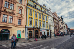 Παλαιά πόλη του Πίλζεν Στοκ φωτογραφία με δικαίωμα ελεύθερης χρήσης