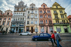 Παλαιά πόλη του Πίλζεν Στοκ Φωτογραφία